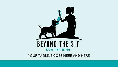 dog trainer business card design - beyon