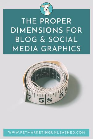 Proper Dimensions for Blog & Social Media Graphics