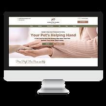 Raleigh Pet Sitter Website Design by Pet