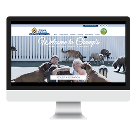 Champ's Dog House Website Design Pet Marketing Unleashed