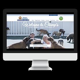 Champ's Dog House Website Design Pet Marketing Unleashed