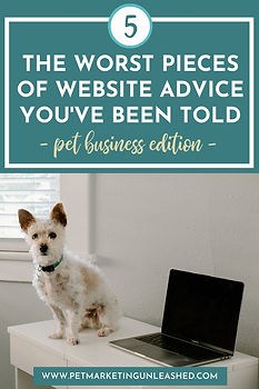 The 5 Worst Pieces of Website Advice You