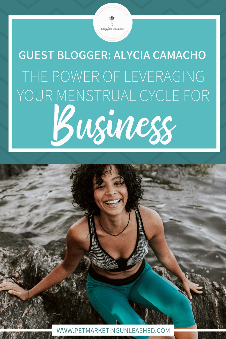 Your Period Your Cycle and Running A Business | Pet Marketing Unleashed | Women's Health