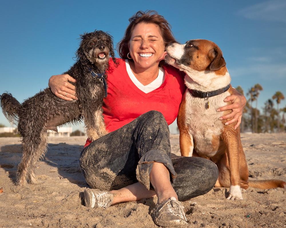 Rosie's Dog Beach in Long Beach
