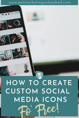 How To Create Custom Social Media Icons (Fo' Free!)