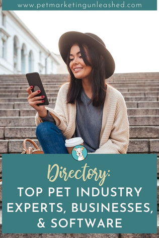 Need Help with your Pet Biz? A List of Our Top Recommended Pet Industry Professionals & Businesses