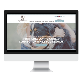 Dog Walker And Pet Sitter South Carolina Website Design