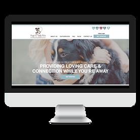 Dog Walker And Pet Sitter South Carolina Website Design