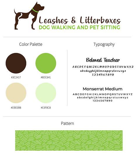 Atlanta dog walker pet sitter branding g