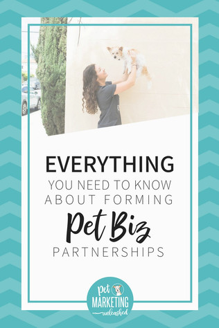 Everything You Need To Know About Forming Pet Biz Partnerships