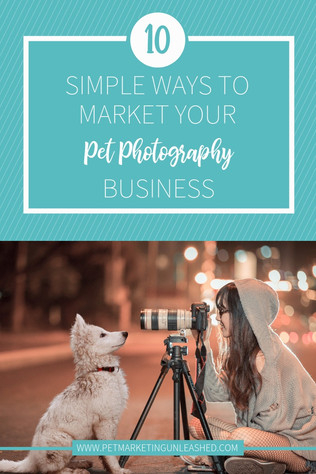 10 Simple Ways to Market Your Pet Photography Business