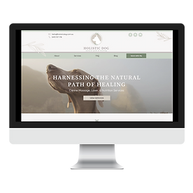 Canine Massage Web Design