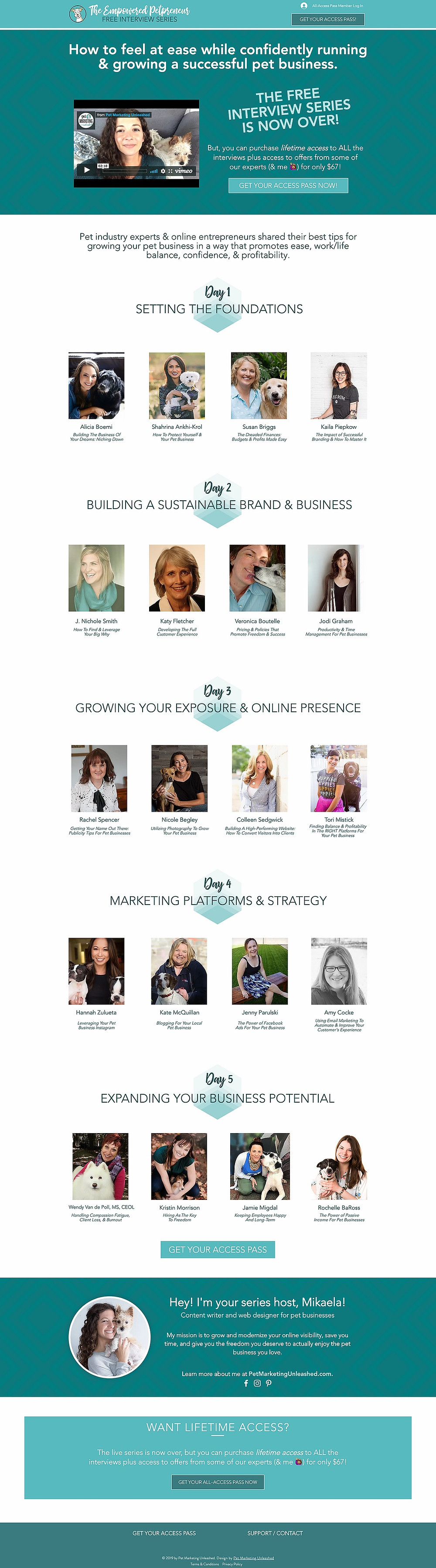 Empowered Petpreneur Online Summit | How To Launch Your Own Online Summit Conference | Pet Marketing Unleashed | Pet Industry And Pet Business Owners