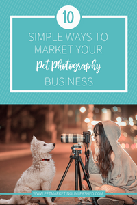 10 Simple Ways To Market Your Pet Photography Business | Pet Marketing Unleashed