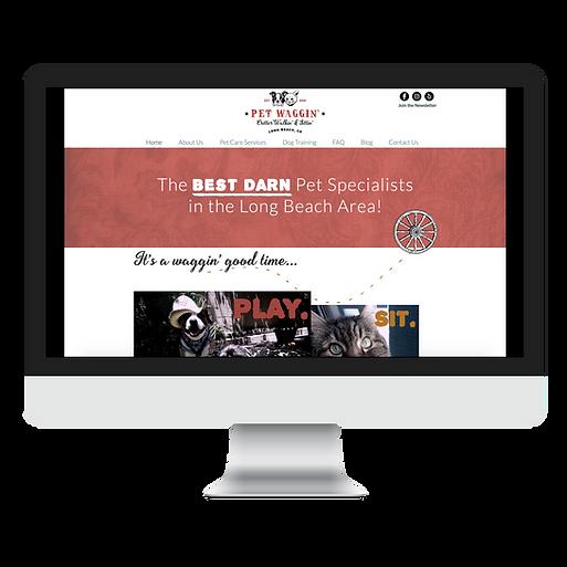 pet industry web design for pet businesses