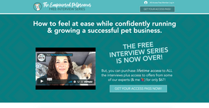 The Empowered Petpreneur Online Interview Series Summit For Pet Business Owners | How To Plan And Launch Your Online Summit | Pet Businesses