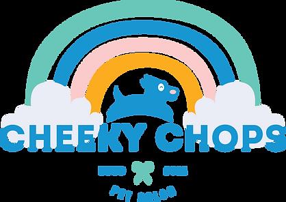 Cheeky Chops Pet Salon - Groomer Logo De