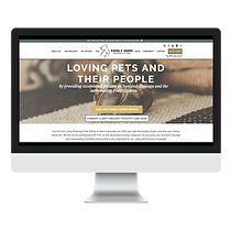 purrs and grrrs dog walking and pet sitting web design portfolio pet marketing uleashed
