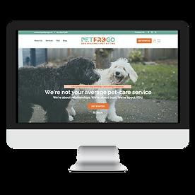 PetProGo Logo, Branding, & Website Design For Dog Walker And Pet Sitter in LA