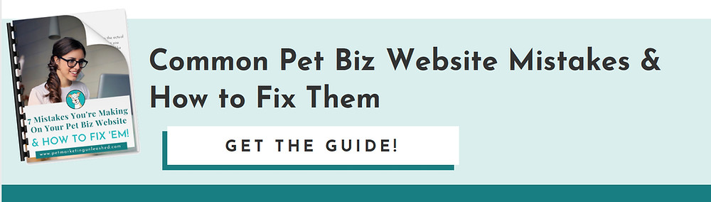 Common pet business website mistakes and how to fix them | Pet Marketing Unleashed