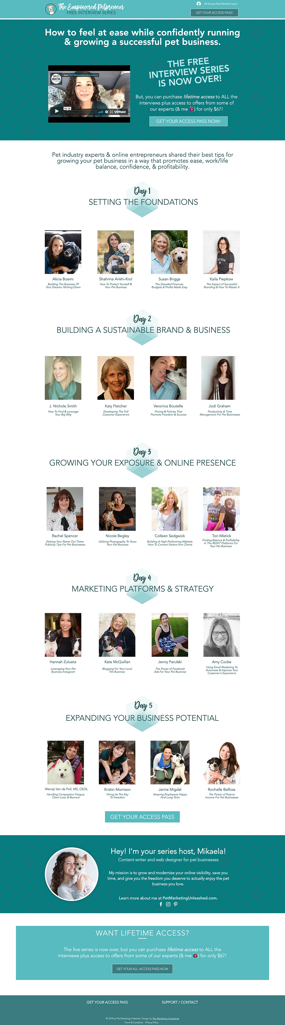 Empowered Petpreneur Online Summit   How To Launch Your Own Online Summit Conference   Pet Marketing Unleashed   Pet Industry And Pet Business Owners