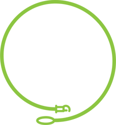 Leashes & Litterboxes leash logo