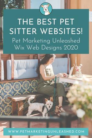 Best Pet Sitter Websites - Pet Marketing Unleashed Wix Web Designs 2020