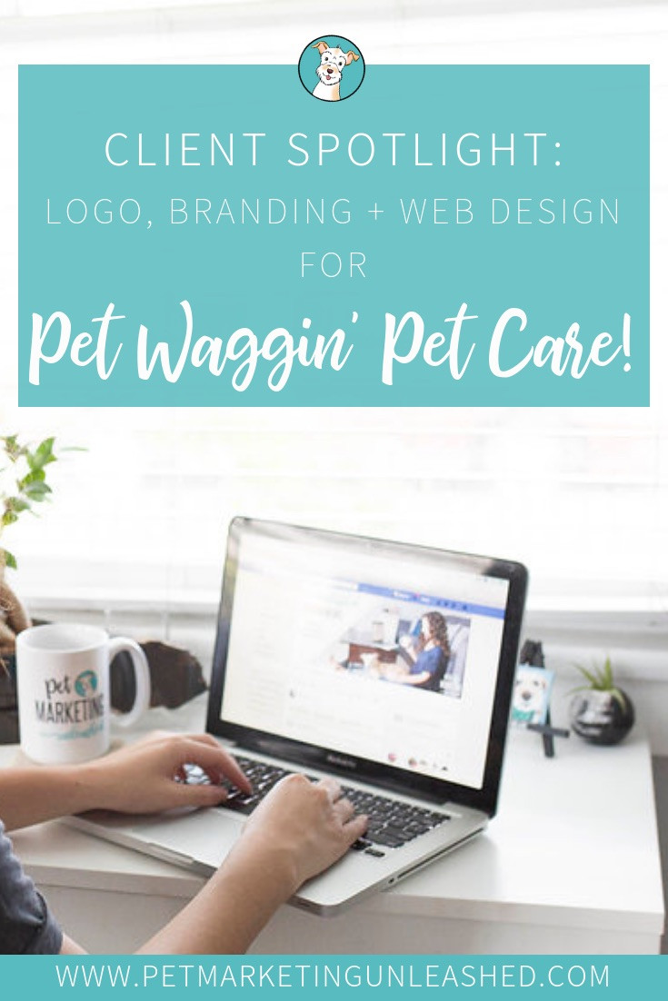 Logo, branding, & website design for dog walking and pet sitting business in Los Angeles | Pet Marketing Unleashed
