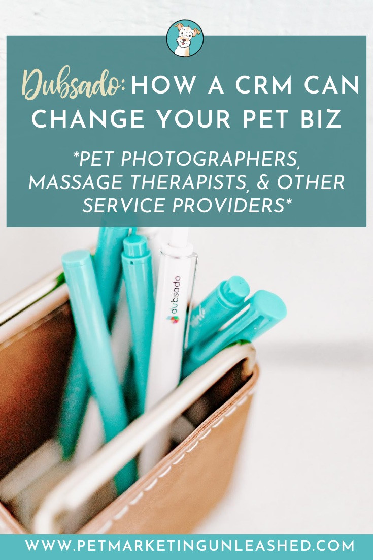 Dubsado: How a CRM Can Change Your Pet Biz for pet photographers, massage therapists, and other service providers with pets