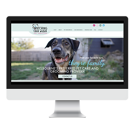Watching Over Wilbur boarding and grooming web design pet marketing unleashed
