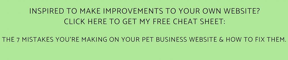 Websites for pet sitters | Pet Marketing Unleashed