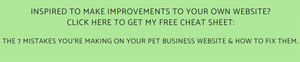 Websites for pet sitters | Pet Marketing Unleashed