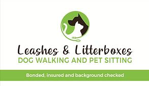 Pet Sitter Business Card Design