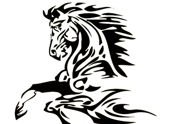 The Other Stallion decal