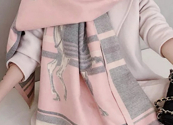 Stunning Cashmere-like Shawl/Scarf