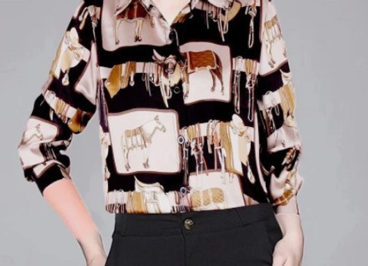 The Horse Lovers Dressy Blouse