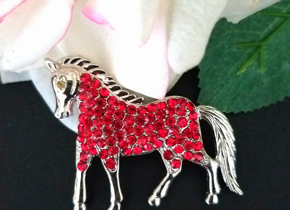 The Holiday Horse Brooch!