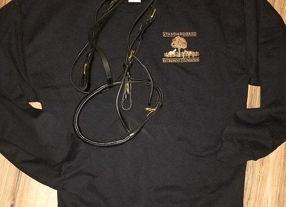 Unisex Black Crew Sweatshirt