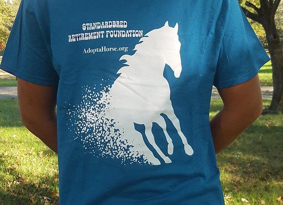 Unisex SRF T-shirt in Teal!