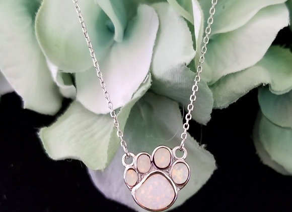 The Opal and Sterling Silver Pup Paw