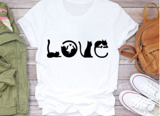 The Cat Lover's LOVE Top