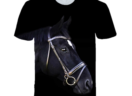 Soft Horse Silhouette T-Shirt
