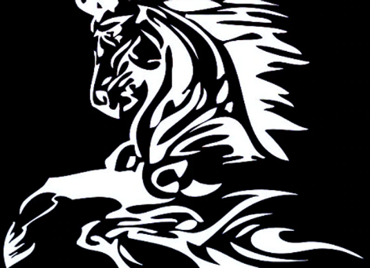 The Stallion Decal