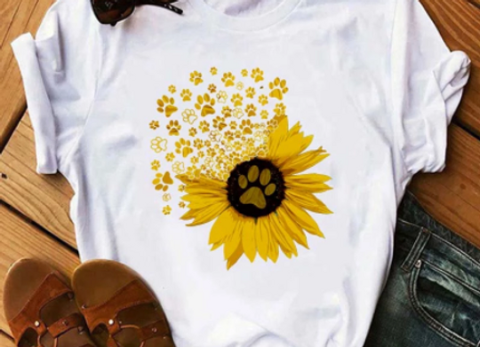 The Sunflower Paw T-shirt