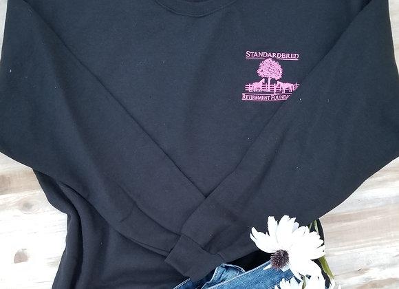 Unisex Crew Black with Pink