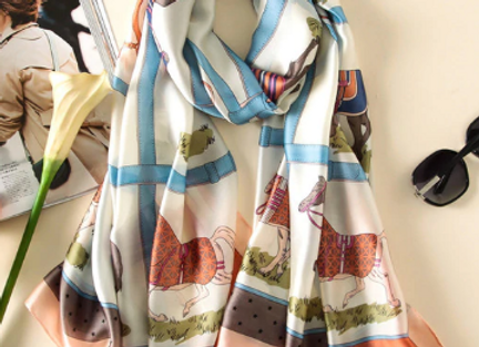So Pretty! Silk Scarf