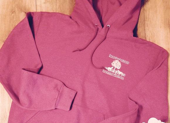 Heather Strawberry Pullover Sweatshirt