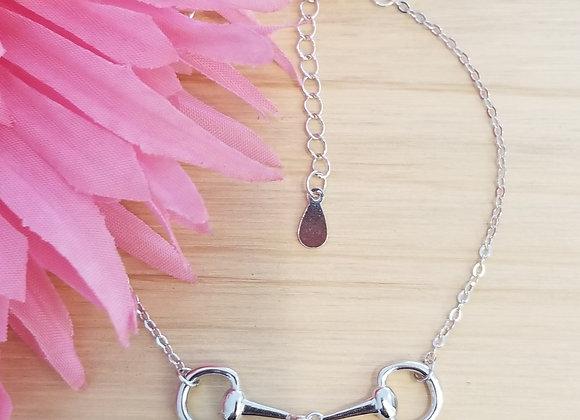 Pretty 925 Silver Bit Bracelet