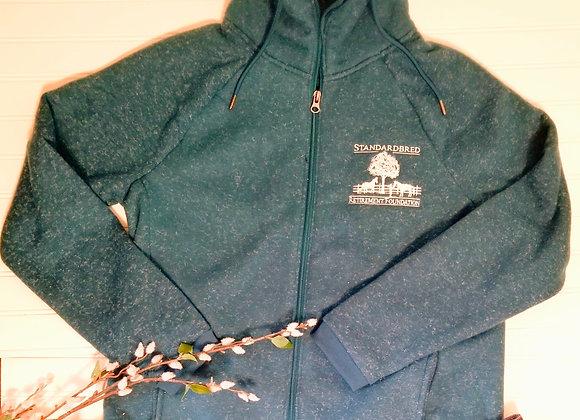 Rich Green Fleece Zip