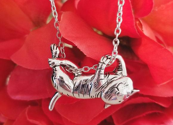Fabulous! Silver Mischievous Barn Cat